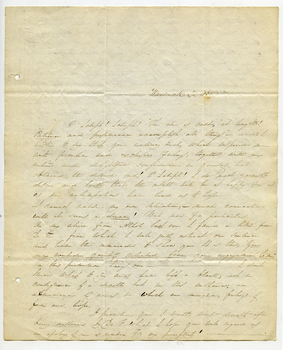 Letter from Abigail Pomeroy to Joseph Stoddard Lathrop, May 24, 1838