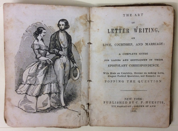 The Art of Good Behaviour and Letter Writer on Love, Courtship, and Marriage