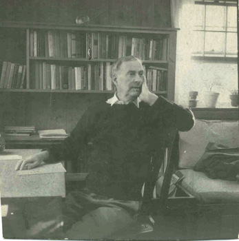 Robert Francis in contemplative mood