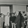 Reception for Robert Francis at Jones Library 1977