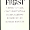 francis_robert_book_cover_frost_a_time_to_talk.jpg