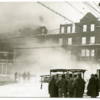 After the Amherst House fire, 1926