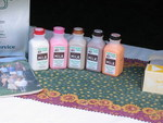Flavored milk at the Mapleline Farms booth