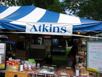 Atkins Farms Country Market booth