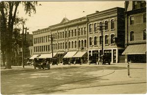 jl190_ edgar scott postcard, merchants' row before amherst house fire.jpg