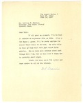 Letter from Robert Francis to William Merrill, July 14, 1958
