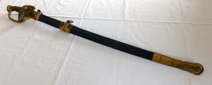 Sword carried by Samuel Minot Jones during the Civil War
