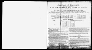 Amherst tax records, 1865