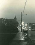 Night view up Main Street